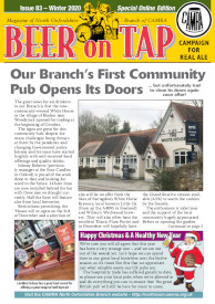 Beer On Tap front page